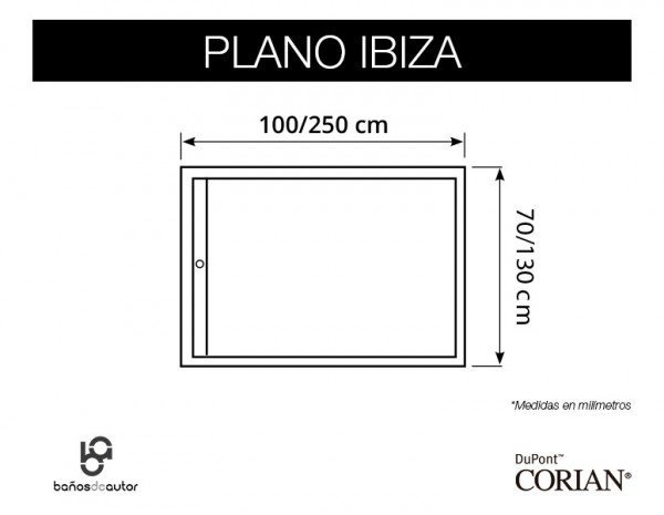 plano medidas Ibiza