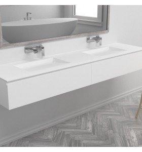 PROMOCIÓN  Mueble de MDF + Doble Lavabo Solid Surface