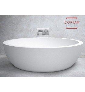 bañera corian rectangular