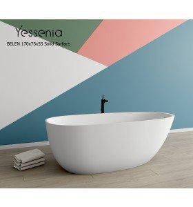 Bañera Exenta BELÉN Solid Surface 170cm x 75cm