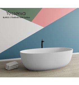 Bañera Exenta BLANCA Solid Surface 170x80cm