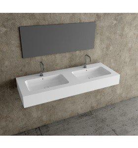 Encimeras Doble lavabo Resina Solid Coat 807