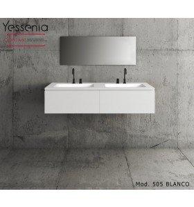 Mueble de MDF a Medida con 2 Cajones Consecutivos + 2 Lavabos de diseño Corian® Principal