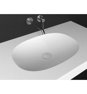 Lavabo de diseño Krion a Medida 1 Seno Sorella Top Detalle