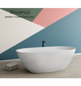 Bañera Exenta BARBARA Solid Surface 177 x 80cm