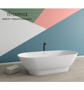 Bañera Exenta BERKLEY Solid Surface 178cm x 83cm