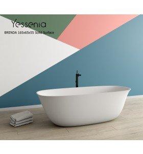 Bañera Exenta BRENDA Solid Surface (165 x 65cm)
