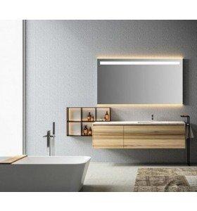 Mueble de Roble Natural a medida con 2 Cajones + 1 Lavabo de Corian® 524