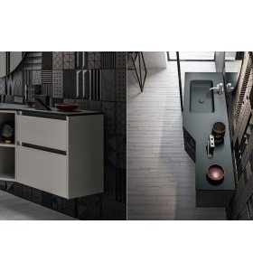Mueble Baño Moderno 709