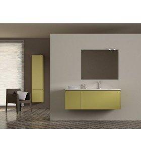 Mueble de MDF a Medida con 2 cajones  + 1 Lavabo de diseño Corian® 566