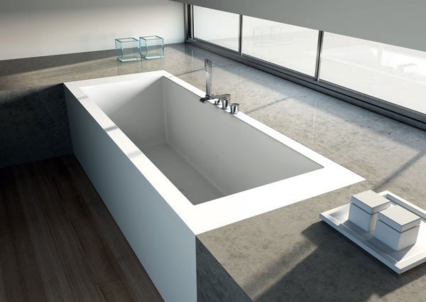 Corian One Bañera Lateral
