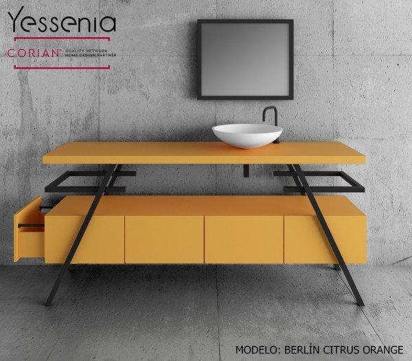 Conjunto 2518 Berlín Colección YESSENIA Naranja