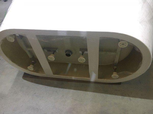 Bañera GLASGOW 170 cm X 80 cm Exentas Modernas