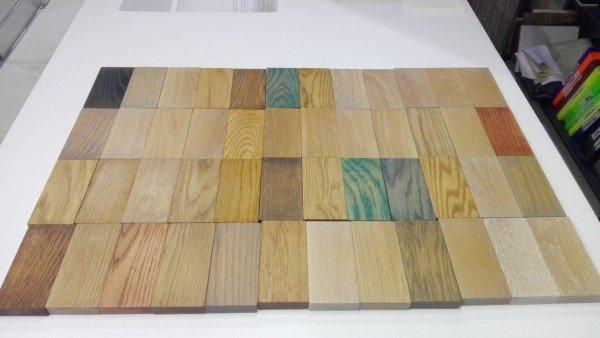 Mueble de Roble Natural a medida con 2 Cajones + 1 Lavabo de Corian® Muestras