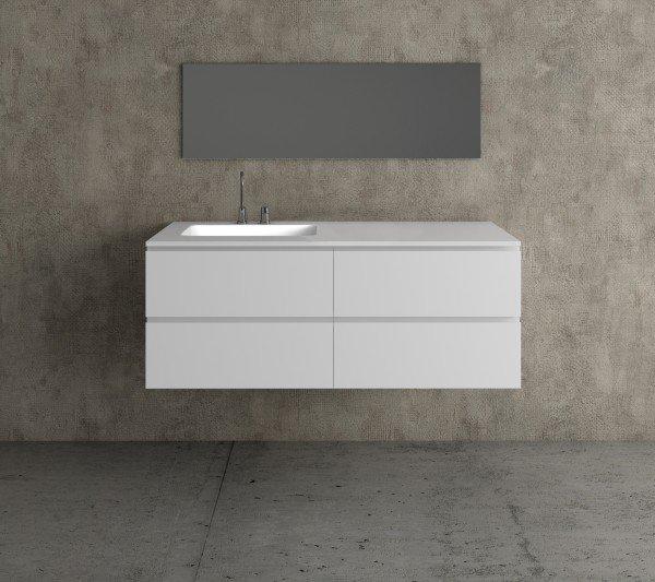 Mueble de MDF a Medida con 4 Cajones + 1 Lavabo de diseño Corian® M585 Principal