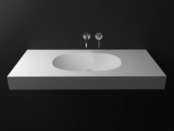 Lavabo de diseño Krion a Medida 1 Seno Sorella Top Principal